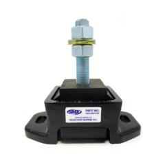 SMX Vibration Isolator for Cummins 6B 5.9 Marine Engines