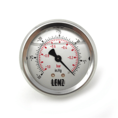 Vacuum Gauge (Rear Low Profile Mount)