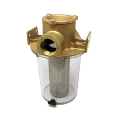 Groco ARG Series Raw Water Strainer with Bronze Cap