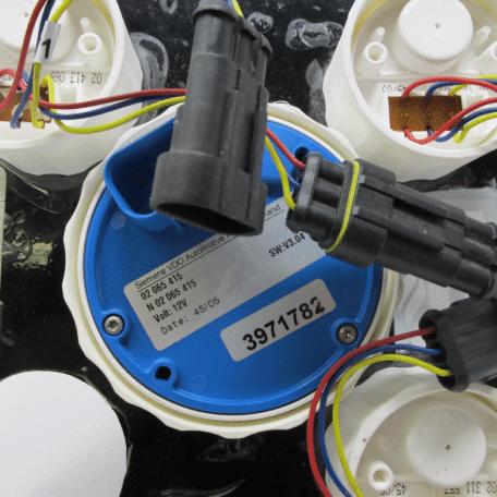 Used Cummins Mercury SmartCraft SC1000 Gauge Panel (3971782)