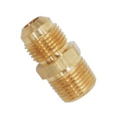Brass NPT to Flare Adapter