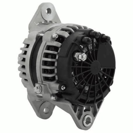 Cummins Marine 28 SI 12V 200A Alternator with Pulley