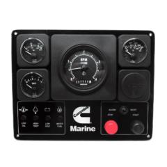 Cummins OEM Second Station Analog Marine Instrument Panel