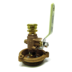 Groco ARG Series Bronze Cap with Freshwater Flush