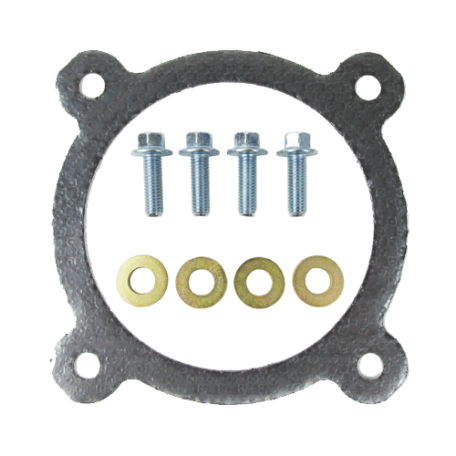 Cummins Graphite Turbo Charger to Exhaust Gasket & Bolt Kit