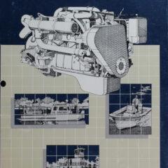 Operation & Maintenance Manual for Early B Series Marine Engines (circa 1985)