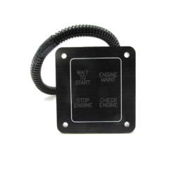 QSM11/480CE Check Engine Light Panel (4019382)