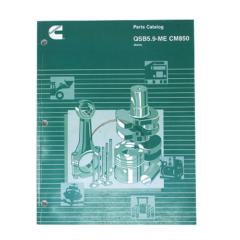 Cummins Marine QSB 5.9 (CPL 8344 - 8424) Parts Catalog (Hard Copy)