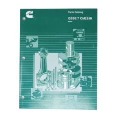 Cummins Marine QSB 6.7 (CPL 4699) Parts Catalog (Hard Copy)