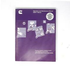 Operation & Maintenance Manual for QSM 11 Marine Engines (Hard Copy)