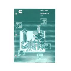 Cummins Marine 6BT 5.9 250 (CPL 714, 8206) Parts Catalog (Hard Copy)