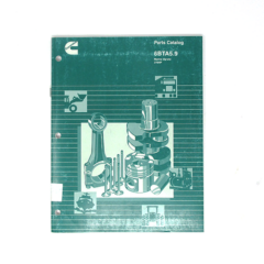 Cummins Marine 6BTA 5.9 270 (CPL 2205) Parts Catalog (Hard Copy)