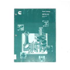 Cummins Marine 6BTA 5.9 355/370 (CPL 1975, 2208) Parts Catalog (Hard Copy)
