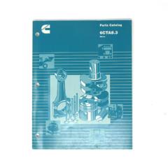 Cummins Marine 6CTA 8.3 (CPL 1221) Parts Catalog (Hard Copy)