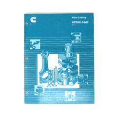 Cummins Marine 6CTA 8.3-M2 (CPL 1282, 1929) Parts Catalog (Hard Copy)