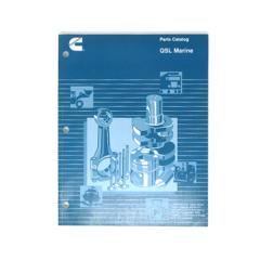 Cummins Marine QSL 9 (CPL 8419) Parts Catalog (Hard Copy)