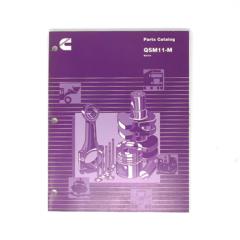 Cummins Marine QSM 11 (CPL 2443, 2817) Parts Catalog (Hard Copy)