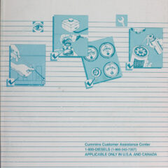 Operation & Maintenance Manual for Recreational Cummins 6CTA 8.3 Series Marine (PDF)