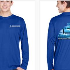 Outer Banks Seaboard Marine Sun Shirt