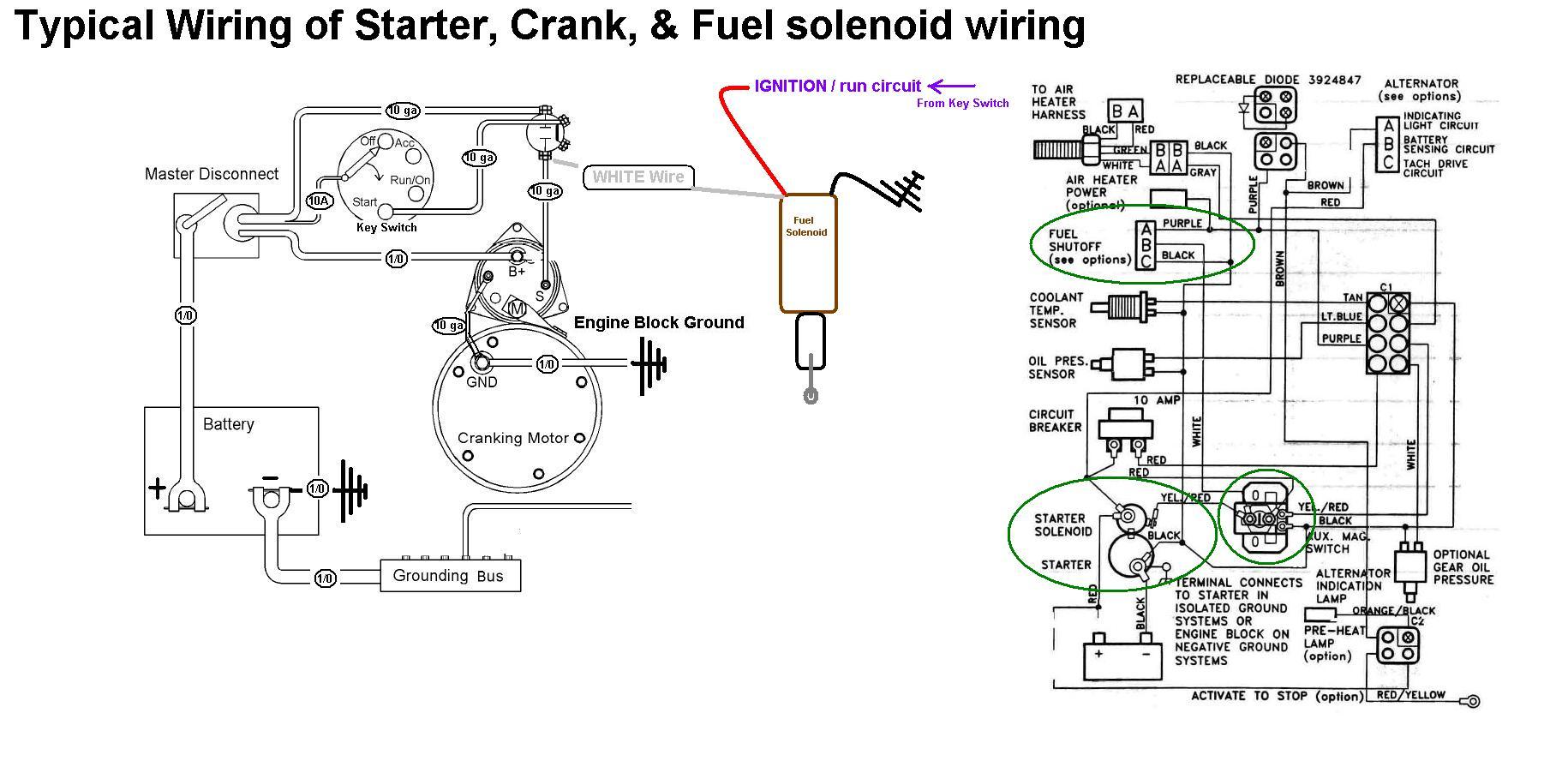 Marine Solenoid Switch Wiring Diagram